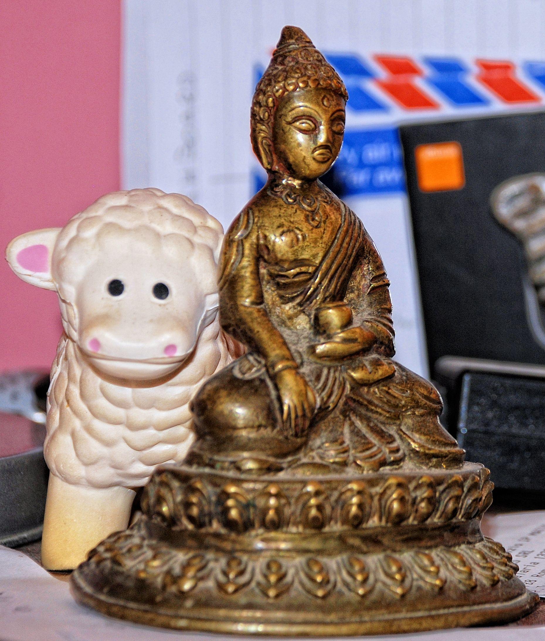 Bouddha pour apporter de l'énergie positive aux enfants