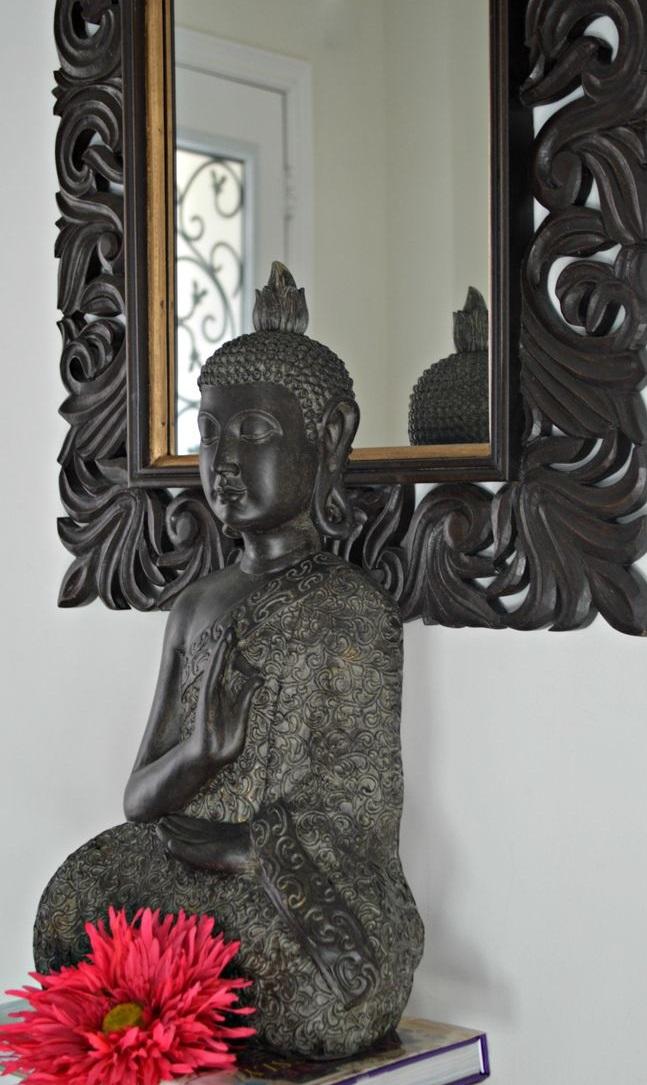 Bouddha à l'entrée de la maison