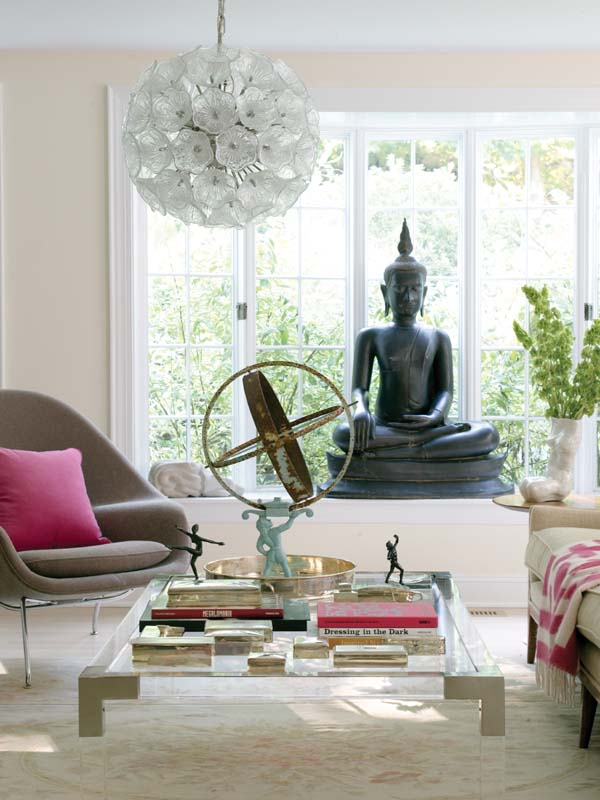 Bouddha Thai pour la décoration du salon