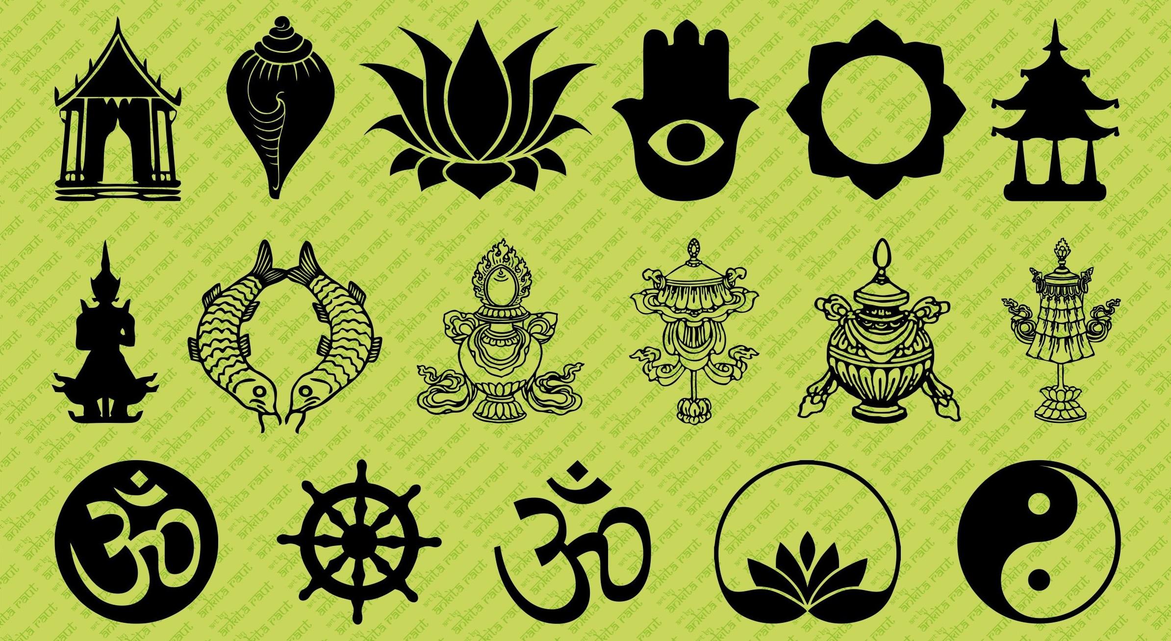 Bouddha Rieur Signification Position symboles bouddhistes - signification des symboles du bouddhisme