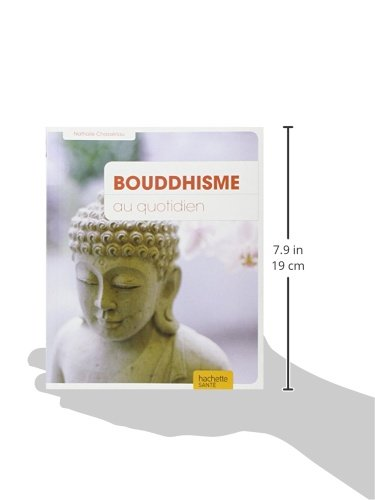 Bouddhisme au quotidien livre dimensions